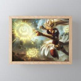Justicar Syndra League of Legends Framed Mini Art Print