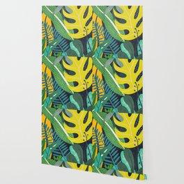 Tropical Flora II Wallpaper