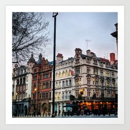 The Red Lion, Parliament Street, London Art Print