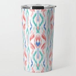 Sun Dress Ikat Travel Mug