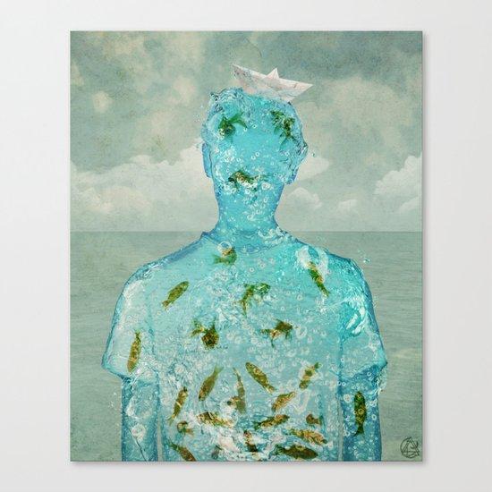 water boy Canvas Print