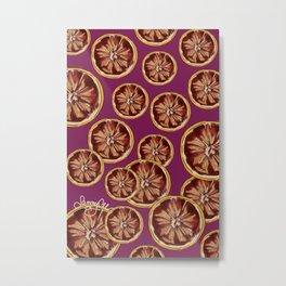 Grape Fruit  Metal Print