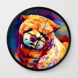 Chow Chow 2 Wall Clock