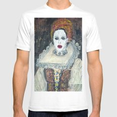 COUNTESS ERZEBET BATHORY Mens Fitted Tee White SMALL