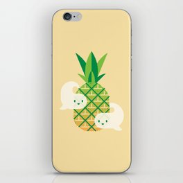 Haunted Pineapple iPhone Skin