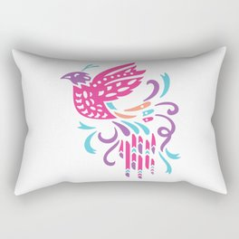 Boho Bird Rectangular Pillow