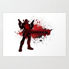 Bloody Mess Art Print
