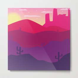 Dreaming of Arizona Metal Print