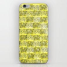 Powder Animal print Series (Yellow) iPhone & iPod Skin