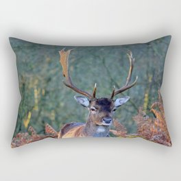 Stag Leader of the Herd 2 Rectangular Pillow