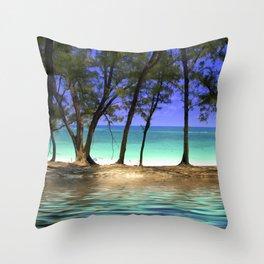 Paradise - Paradise Island, Bahamas Throw Pillow