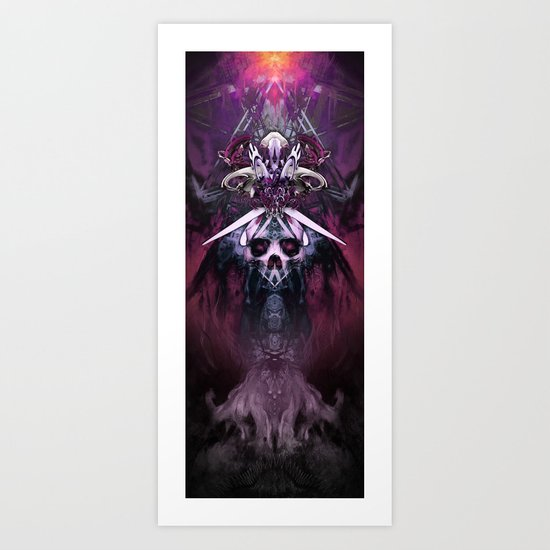 Warlokk's Totem Art Print