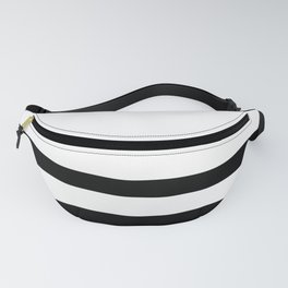 Two Black Stripes  Fanny Pack