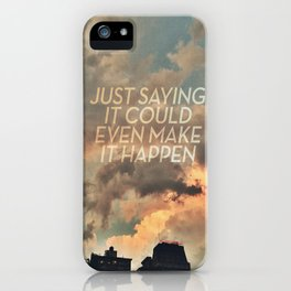 cloudbusting iPhone Case