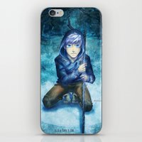 jack frost iPhone & iPod Skins featuring Jack frost by keiden