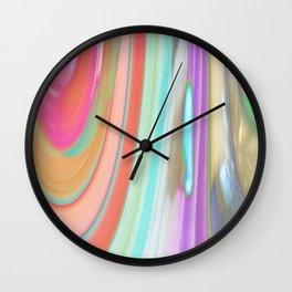 476 - Abstract Colour Design Wall Clock