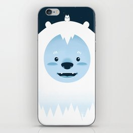 Winter in the woods iPhone Skin