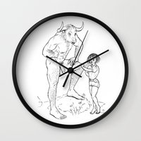 lolita Wall Clocks featuring Lolita by Required Animals