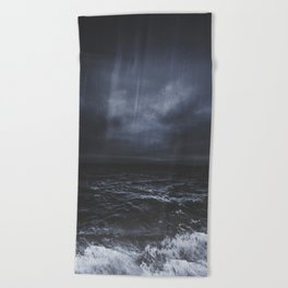 Lost in the sea Beach Towel