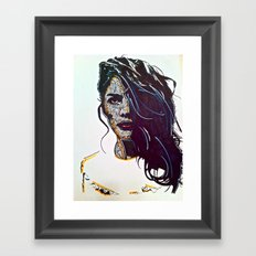 Focused Framed Art Print