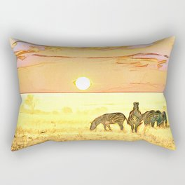 African Savannah Rectangular Pillow