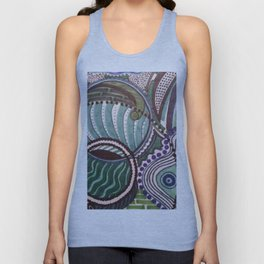 EMERGING WAVES Unisex Tank Top