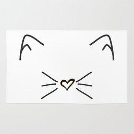 Cute Cat #society6 #decor #buyart #artprint Rug
