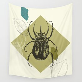 Beetle colors Wall Tapestry
