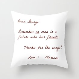 Dear George Throw Pillow