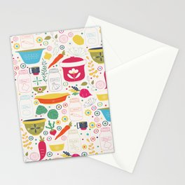 Eat Your Veggies! Stationery Cards