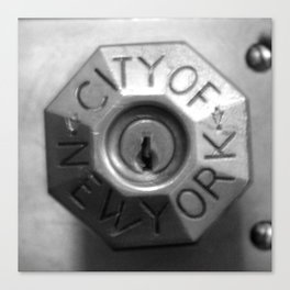 KEY TO NYC Canvas Print