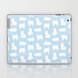 Samoyeds Print Laptop & iPad Skin