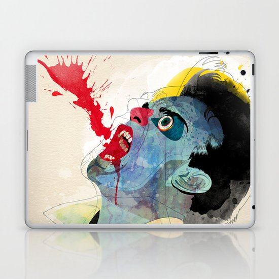 fountain v2 Laptop & iPad Skin