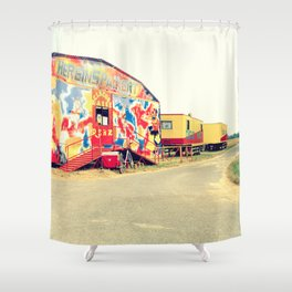 CIRCUS RENZ _9 Shower Curtain