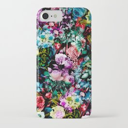 Multicolor Floral Pattern iPhone Case