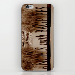 Angles with Bagpipes iPhone Skin