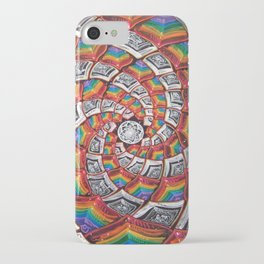 Tunnel To The Moon iPhone Case
