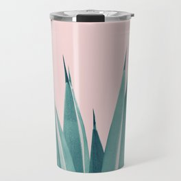 Blush Agave Dream #1 #tropical #decor #art #society6 Travel Mug