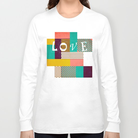 Geometric Love Long Sleeve T-shirt