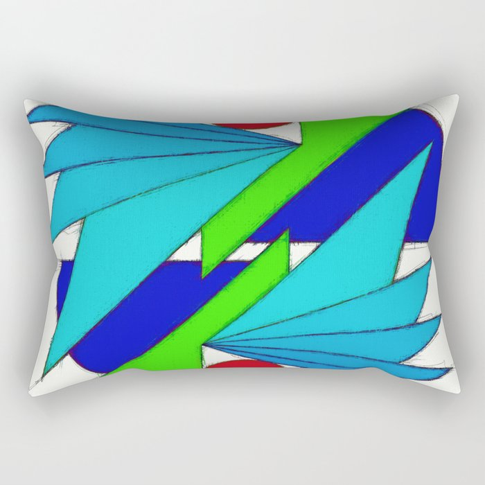 Avian 3 Rectangular Pillow