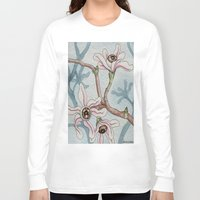 botanical Long Sleeve T-shirts featuring Botanical Visions by Bonnie Johnson