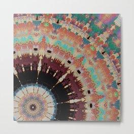 Wheels of Creation Metal Print