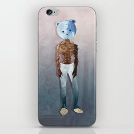 Gangsta Bear iPhone Skin