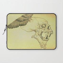 Winged Skull Laptop Sleeve