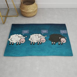 Bored Sheep Rug