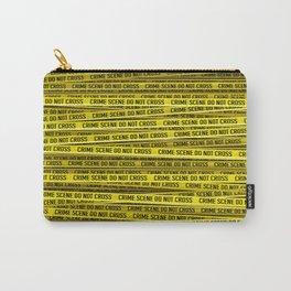Crime scene / 3D render of endless crime scene tape Carry-All Pouch