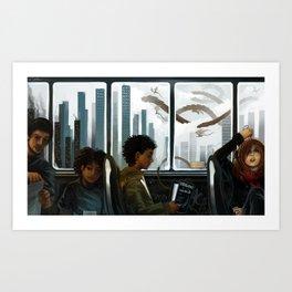 Imaginary Skyline Art Print