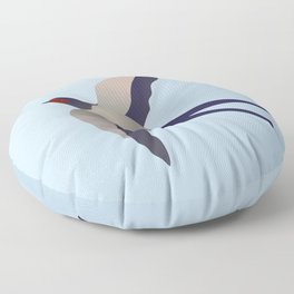 Farmers swallow Floor Pillow