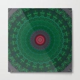 FineLine Mandala 10 Metal Print