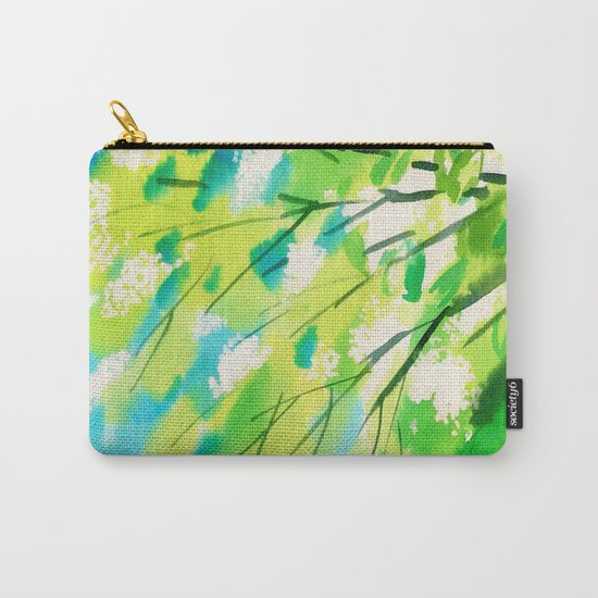 Tree in bloom ❤ Carry-All Pouch